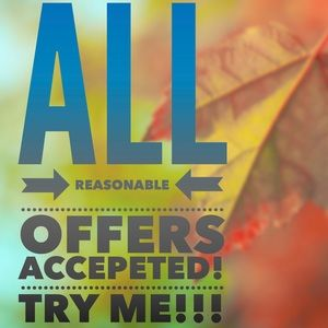 🍁Happy to accept any and all reasonable offers🍁